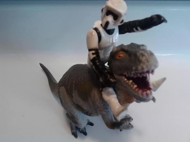 coach daddy stormtrooper dinosaur