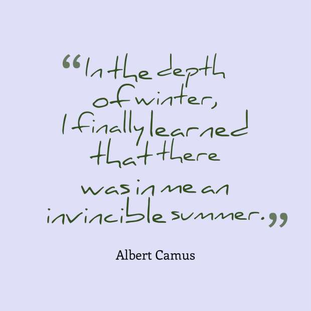 quote camus winter