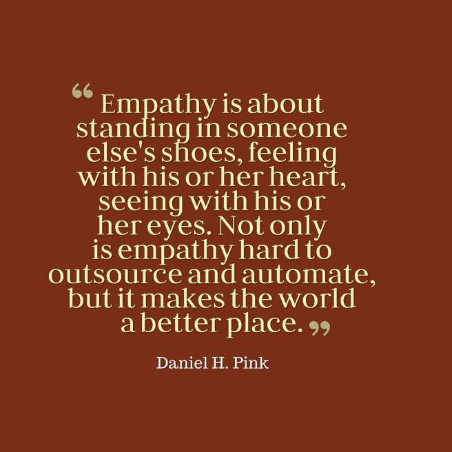 quotes empathy pink