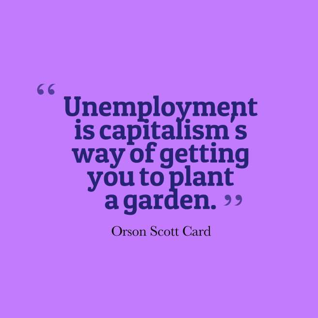 card quote unemployment