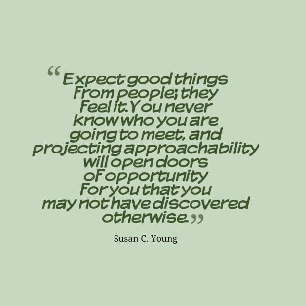 quotes approachability young