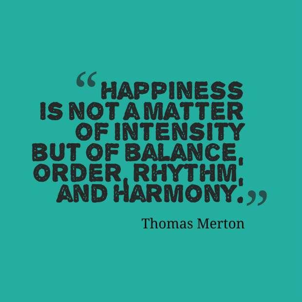 quote merton harmony