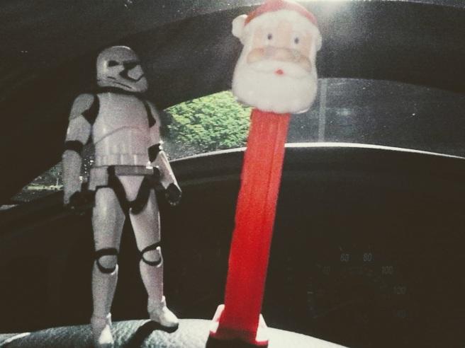 stormtrooper santa pez