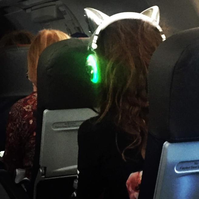 headphones airplane phoenix