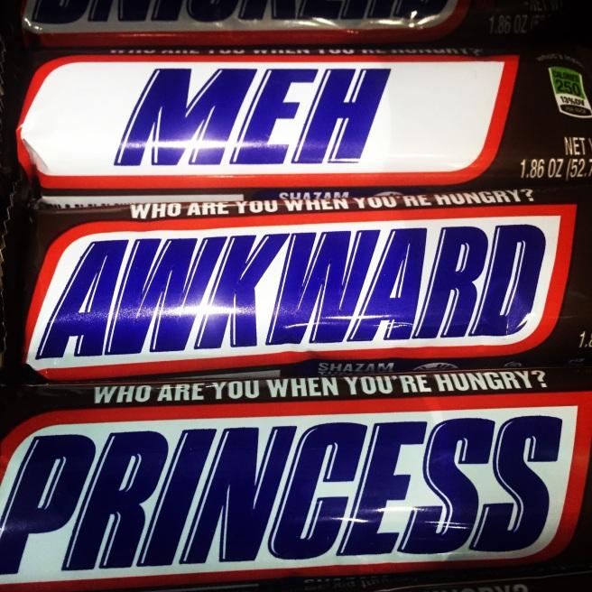 snickers awkward