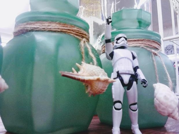 stormtrooper antique shop shells green jars
