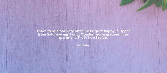 hepburn quote weekends