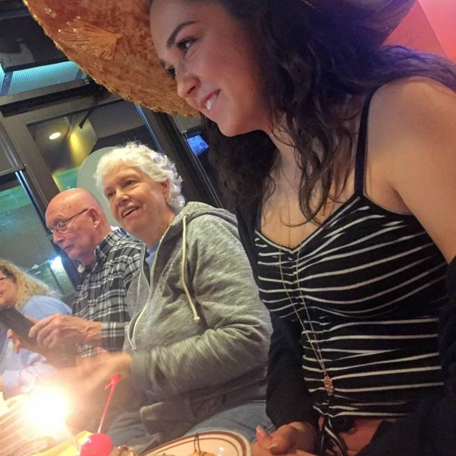hayden grandparents birthday dinner nov 2018 celebration taxco mexican restaurant