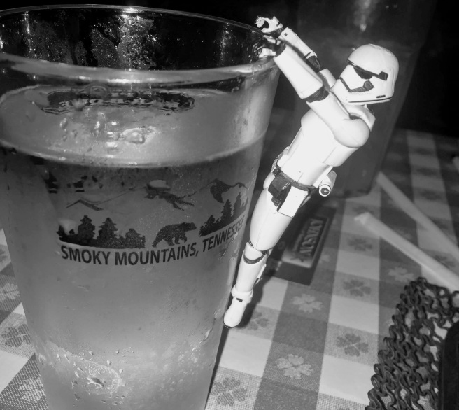 best barbecue in gatlinburg, stormtrooper pics, black and white pics