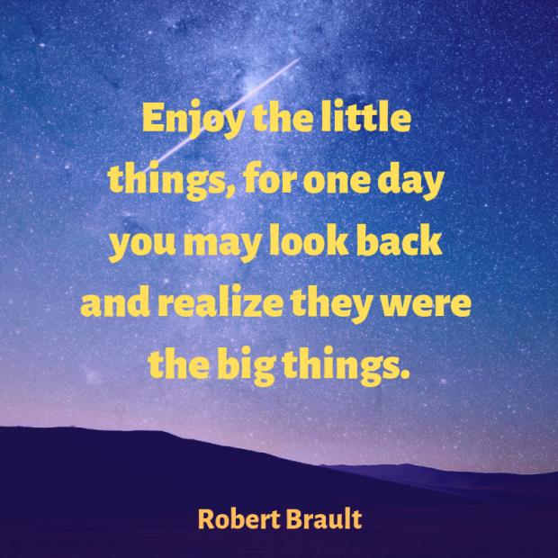 Brault quote gratitude