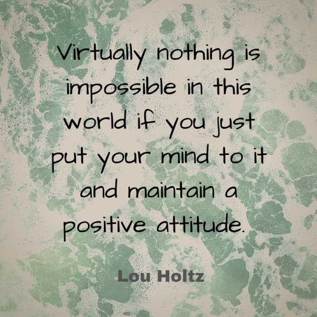 holtz quote virtually anything