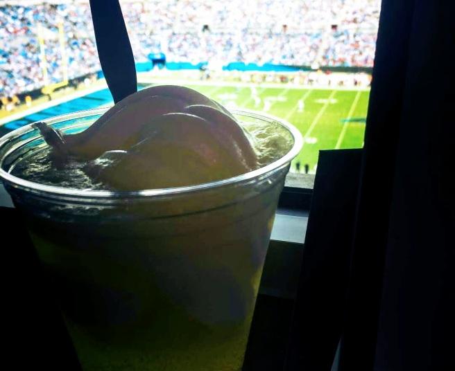 me mountain dew float 2018 refreshment bank of america stadium pressbox