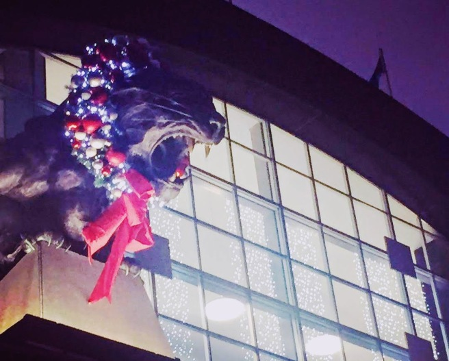 panther christmas 2018 game bank of america stadium