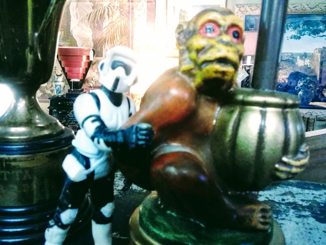 stormtrooper monkey 2018 photo antique shop