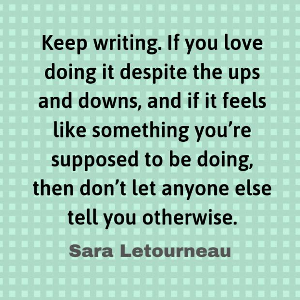 letourneau quote writing