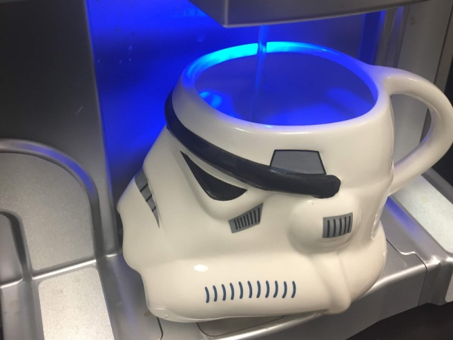 me stormtrooper mug coffee time caffeine acn breakroom