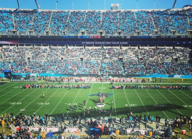 panthers nfl 2018 gametime bank of america stadium press box