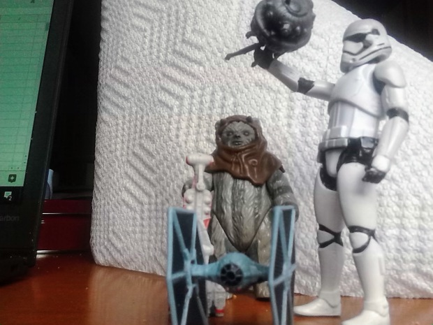 stormtrooper ewok 2017 cleanup kitchen