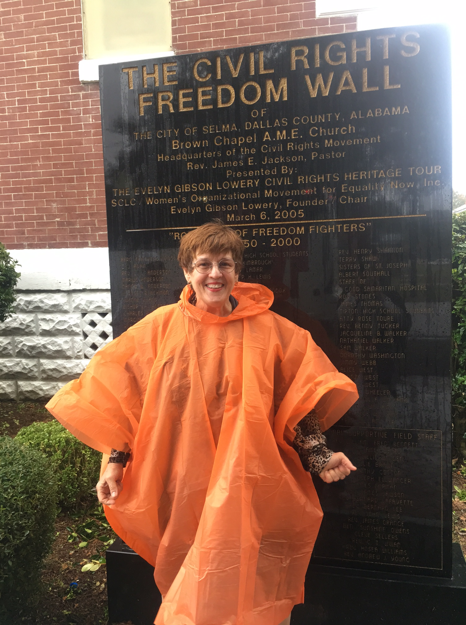 AS anne sullivan On a Civil Rights Immersion trip in front of the Brown Chapel.JPG