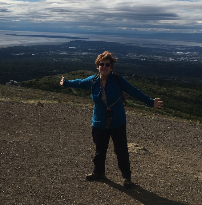 AS anne sullivan This is me attempting to climb Flattop Mountain in Anchorage with my brother