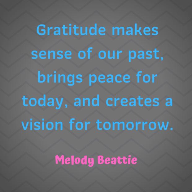 Beattie quote gratitude
