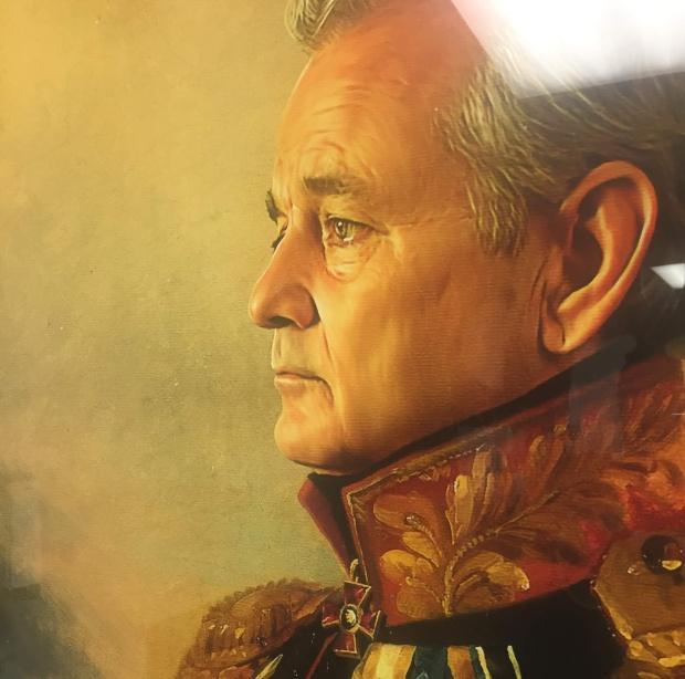 bill murray portrait 2018 regality lincolns haberdashery