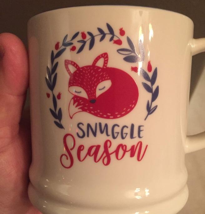 fox mug christmas cute target