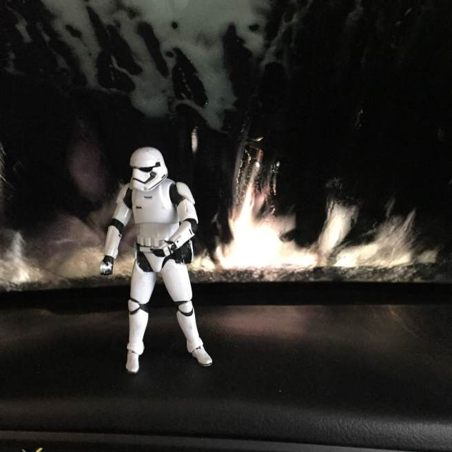 stormtrooper car saturday cool carwash