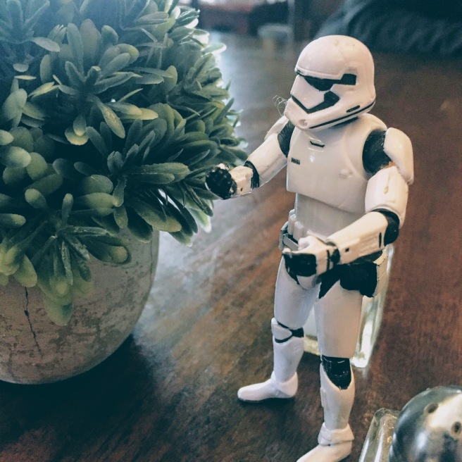 stormtrooper faux plant lunch needed it jabidees