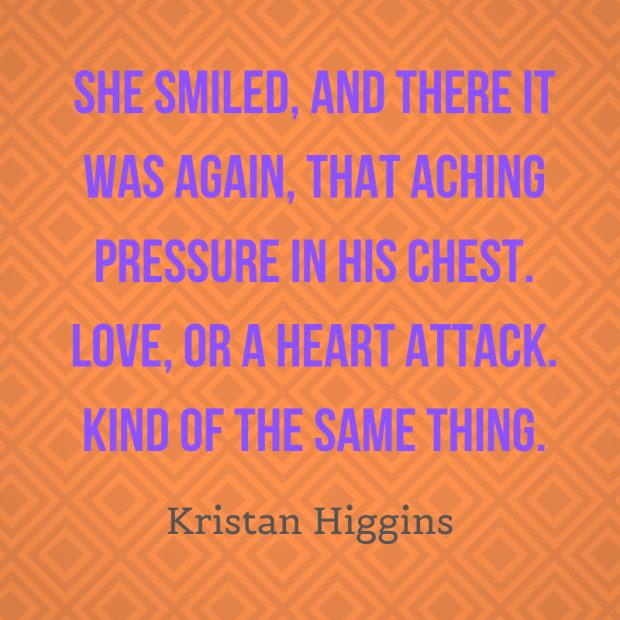 higgins quote heart attack