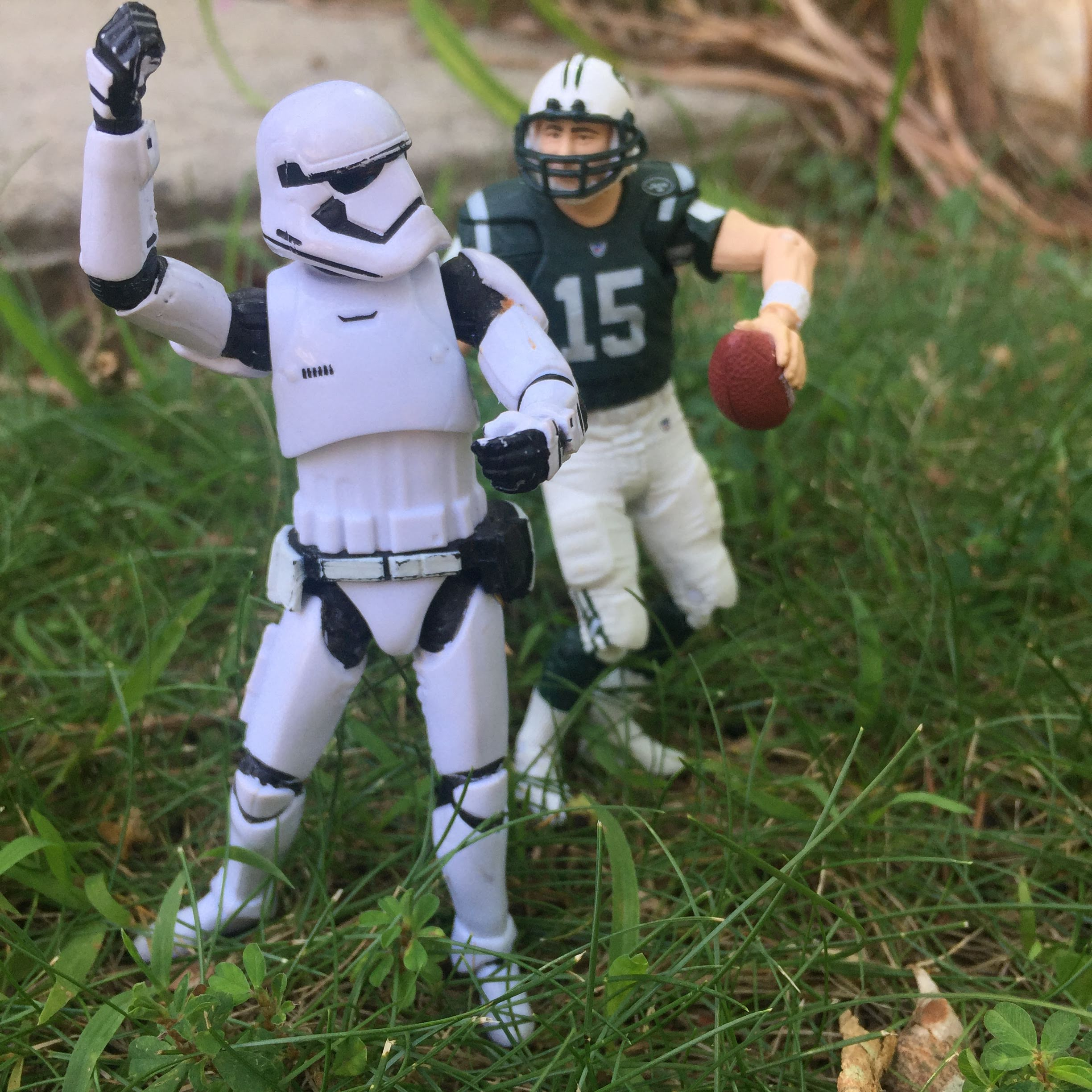 stormtrooper tebow weekend clean out home