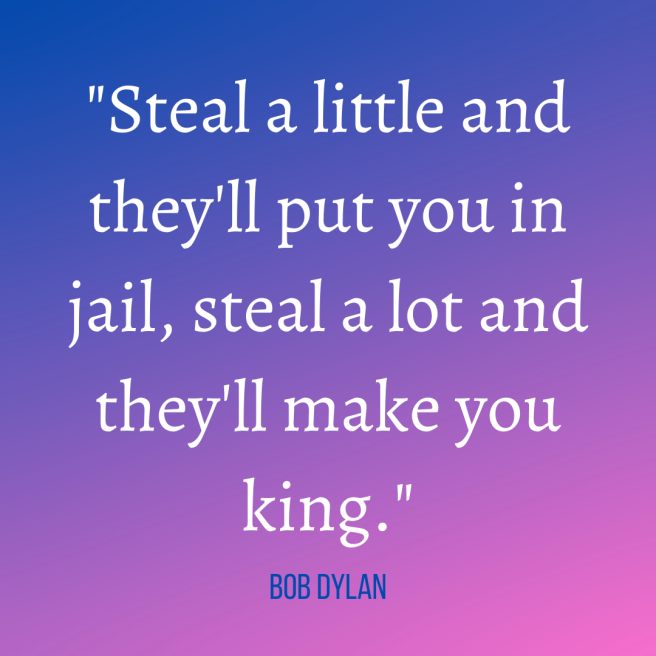 dylan quote stealing