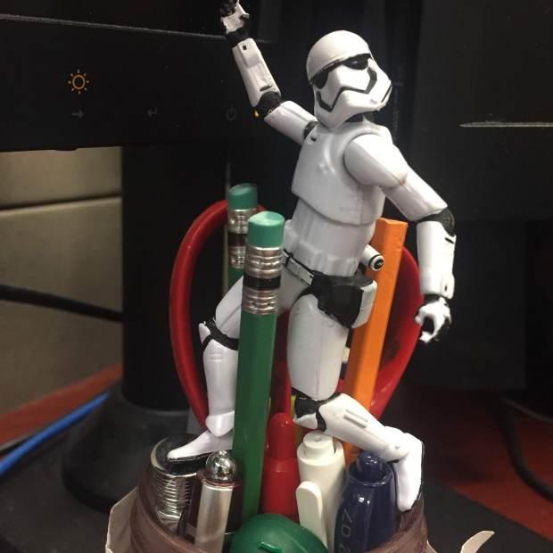stormtrooper pencil cup work opp ACN