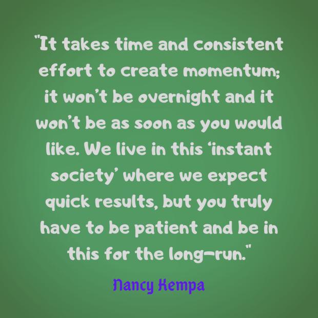 Kempa quote momentum
