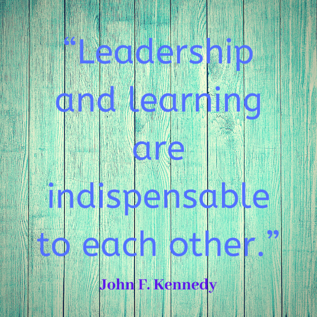 Kennedy quote learning