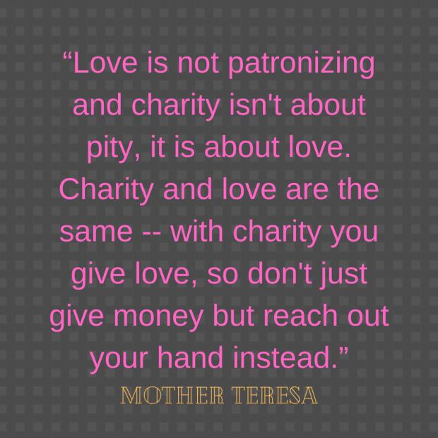 Mother Teresa help quote