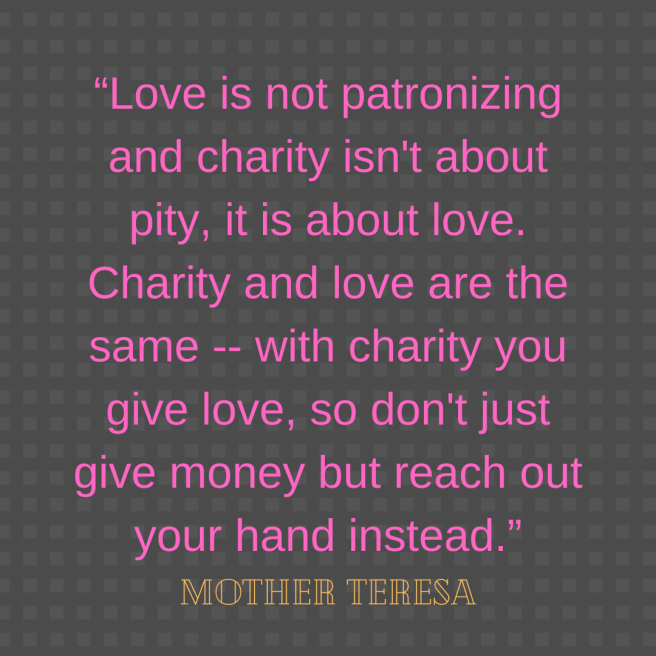 Mother Teresa help quote