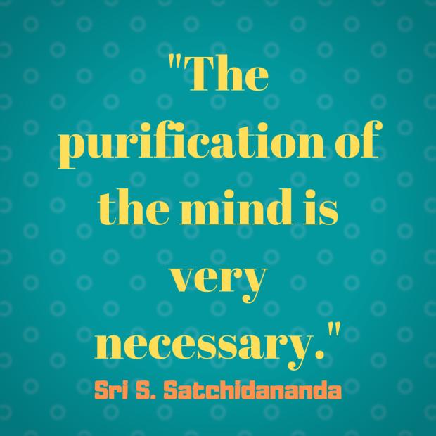 satchidanada quote purify