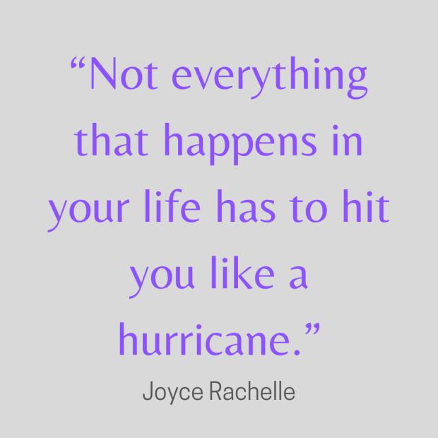 Rachelle quote hurricane