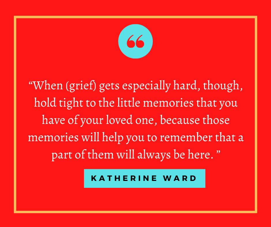 Blogger and copywriter Katherine Ward talks about writing, grieving, and helping others to cope. She's the latest interview for #GirlsRock.